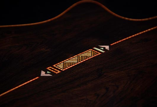 Casimi Guitars Custom Inlays