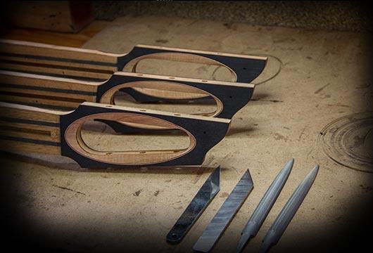 Casimi Guitars signature headstock