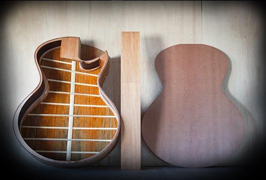 Casimi Guitars workshop