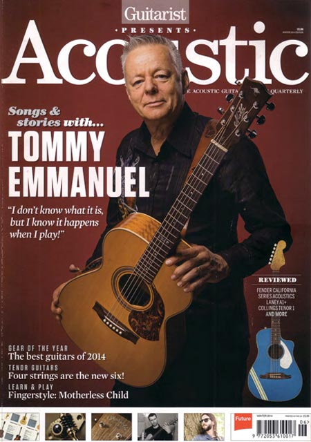 Casimi Guitars Acoustic Mag Review